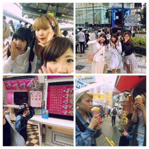 東京に到着