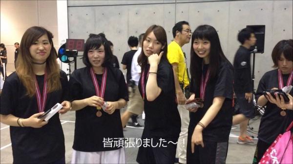 快挙!!3on3バスケ女子3位!!