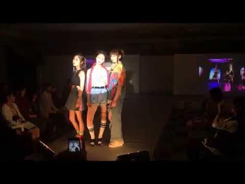 FASHION SHOW リハーサル風景 『ファッションビジネス科Ⅱ』
