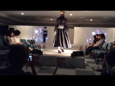 学園祭ファッションショー ファッションデザイン科3年生の作品!!