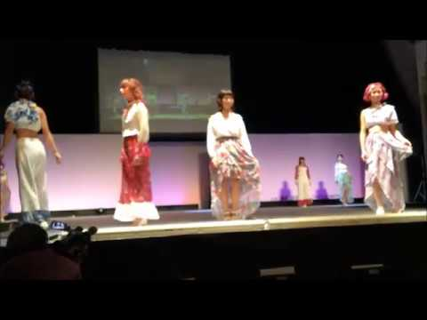H28 卒業制作 ファッションショー最終リハ 【ブランドプロデュース科】