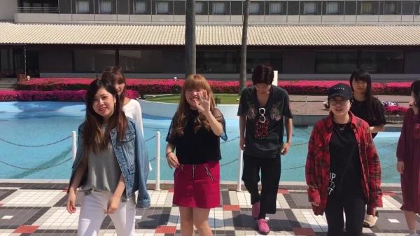 東京研修 クラス記念写真♪ 国際ファッションビジネス科(^^)v