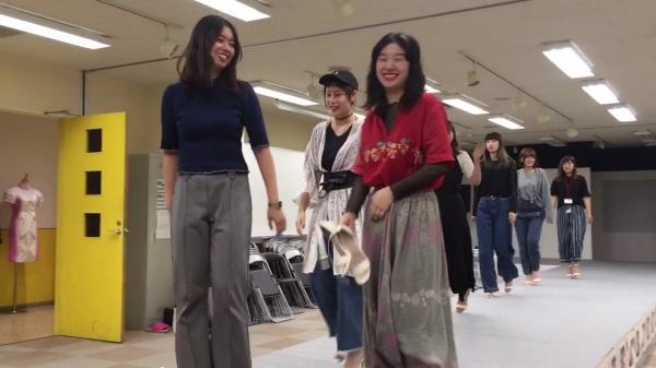 ファッションショーのリハーサル風景見せちゃいます(^_-)-☆