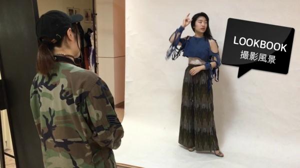 ファッションプロデュース科 LOOK BOOK撮影風景(^_-)-☆